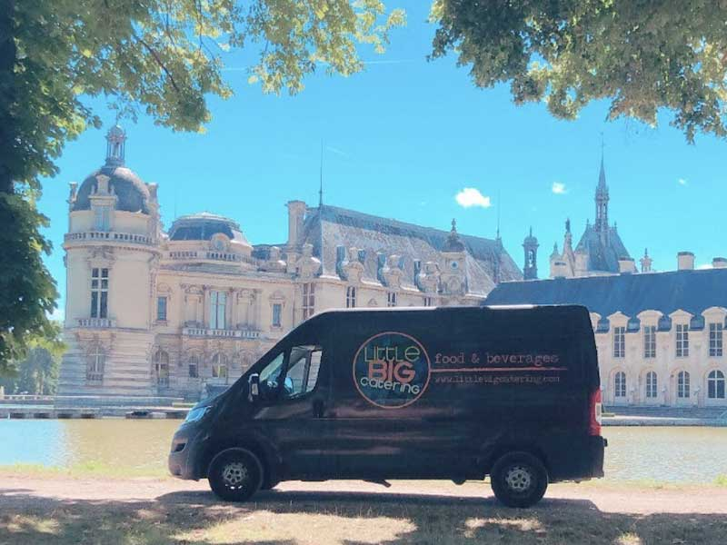 Flocage véhicule - Little Big Catering