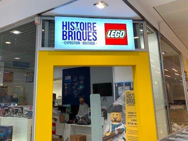 Enseigne lumineuse - Lego